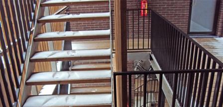 Metaalwerken bijnens b v b a trappen leuningen for Binnenhuis trappen